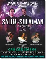 Washington DC  'Salim-Sulaiman LIVE' - Biggest...