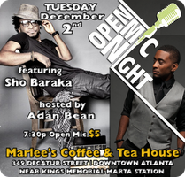 Open Mic feat. Sho Baraka Hosted by Adan Bean