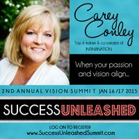 Sneak Peek Webinar#3-Success Unleashed 2015 Vision &...