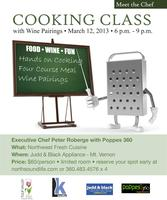 Meet The Chef Cooking Class - Poppes 360