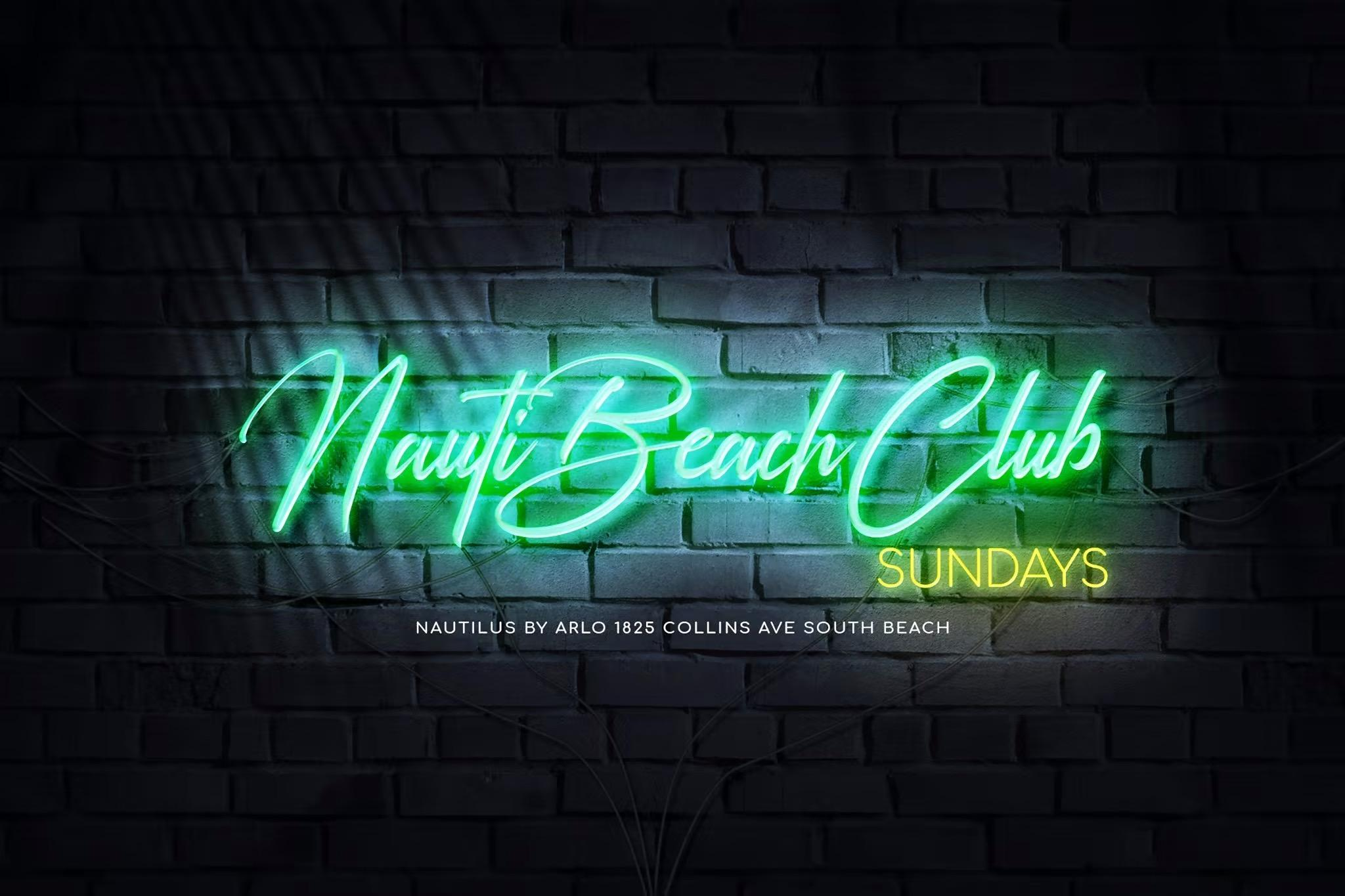 Nauti Beach Club Sundays