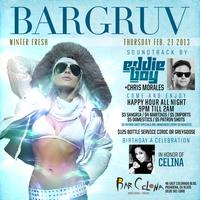 Winter Fresh Edition this Thursday Night at BarGruv wit...