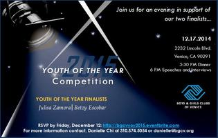 Youth of the Year Competition