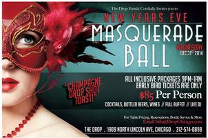 New Year's Eve 2015 Masquerade Ball