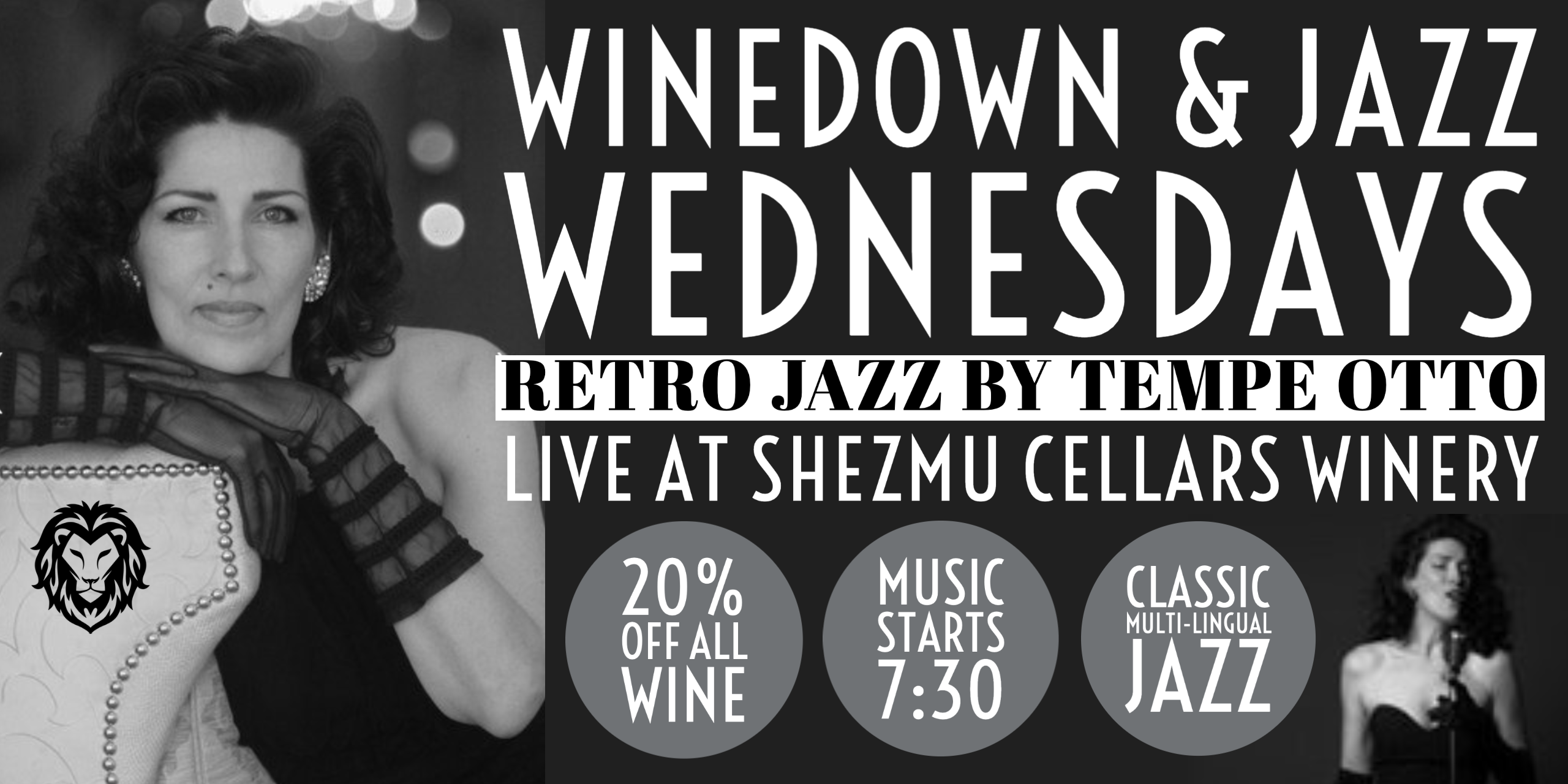 WineDown Wednesday & Live Jazz