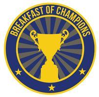 January Breakfast of Champions