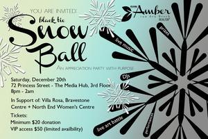 The Black Tie Snow Ball