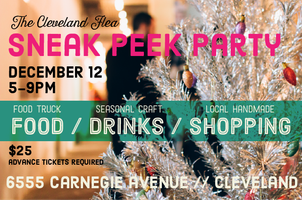 Holiday Flea Maker Market Preview Party