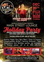 Main Street Holiday Party! HOLIDAY GIVEAWAYS-LIVE...