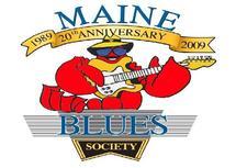 Maine Blues Society logo
