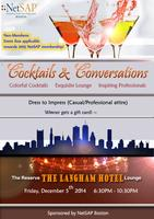 December 5th 2014 - Cocktail and Conversations with...
