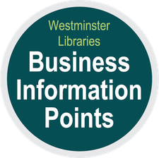 Westminster Libraries Business Information Points logo
