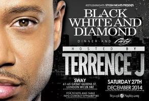 Terrence J hosts StylishNights Black White and Diamond ...