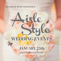 Baltimore Bride's January 2015 Aisle Style Wedding...