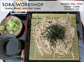 Handmade SOBA Workshop -Learn, Cook, and Eat SOBA!-