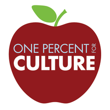 One Percent for Culture logo
