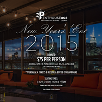New Year's Eve at Penthouse808 Rooftop 2015