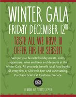 Winter Gala at Whole Foods Market Fremont