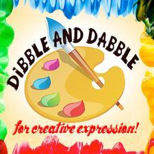 Dibble and Dabble Creativity Center logo