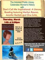 Don't Call Me Inspirational: a literary reading for...