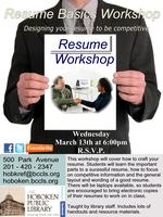 Career Workshop - Resume Writing