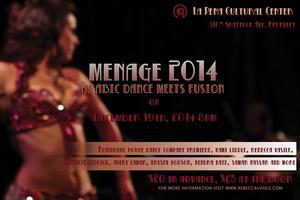 MENAGE 2014: Arabic Dance Meets Fusion