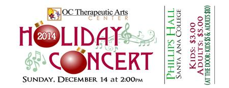 OCCTAC Students' 2014 Holiday Concert