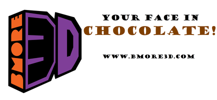 Bmore3D Workshop: Your Face in Chocolate!