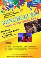 RANGHOLI 2013 - ANNUAL HOLI MEGA BASH
