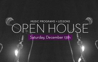 Music Programs Open House