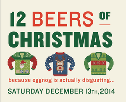 12 Beers of Christmas - Advance tickets SOLD OUT