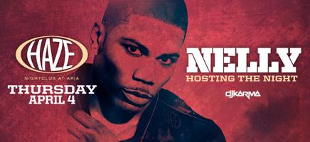 Nelly Hosts Industry Thursday at HAZE Nightcub