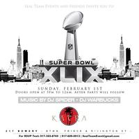 Sealteam Events Annual Superbowl Watch Party 2015