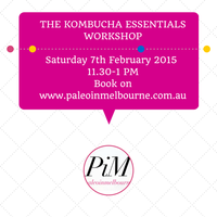 The Kombucha Essentials Brisbane Workshop