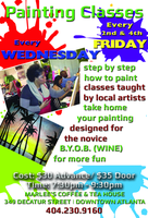 Painting Class - Singles/Couples - BYOB (WINE)