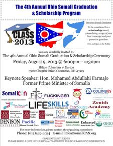 Somali Graduation and Scholarship Program logo