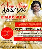 New Year, New YOU - 21 Empowerment Challenge & 31 Days...