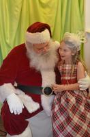 Frozen Inspired Holiday Tea with Santa