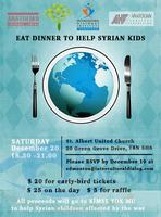 Eat Dinner to Help Syrian Kids