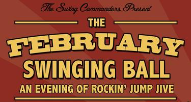 The Swing Commanders' February Swinging Ball