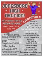 Jonesboro High REUNION Class of '84, '85 & '86