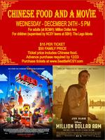 Chinese Dinner and Movie Night!