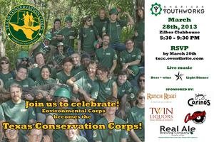 Celebrate! Texas Conservation Corps
