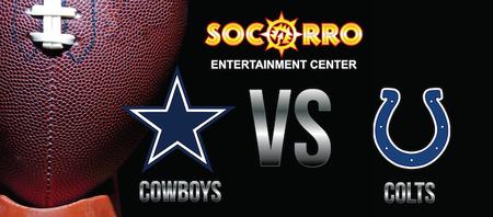 Dallas Cowboys VS Indianapolis Colts