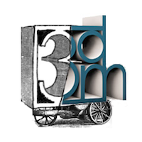 3DM Hub Fort Wayne   logo