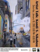 Artist Talk: Kondi S. Nikabou