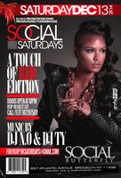 """Social Saturdaze """"Touch of Red Edition"""""""