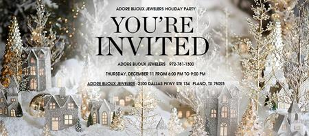 Adore Bijoux Jewelers Holiday Party