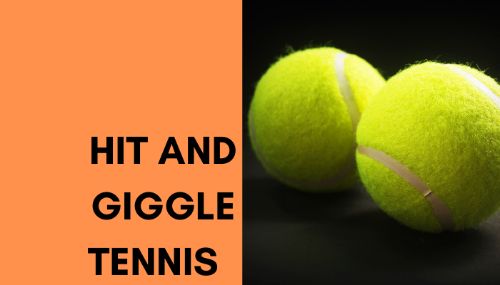 Hit and Giggle Social Tennis Term 1 Week 1