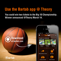 Bartab Big 10 Championship Raffle